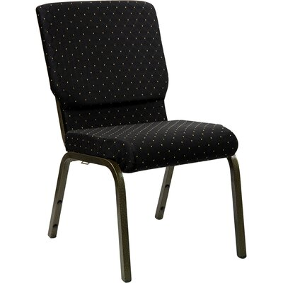 Taylor Stacking Church Chair Seat Color: Black