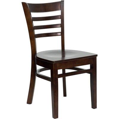 Osborne Side Chair Finish: Walnut