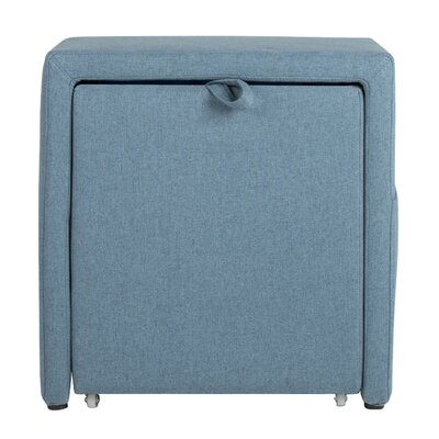 Charter Storage Cube Ottoman Upholstery: Devon Baltic
