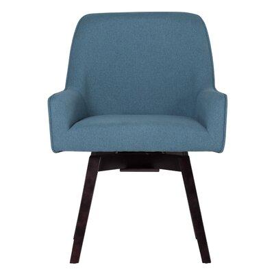 Spire Swivel Arm Chair Upholstery: Devon Baltic