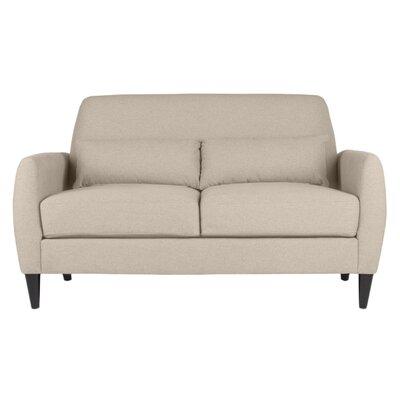 Allure Loveseat Upholstery: Devon Sand