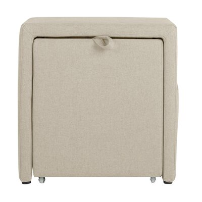 Charter Storage Cube Ottoman Upholstery: Devon Sand