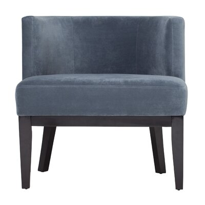 Arris Barrel Chair Upholstery: Cornflower