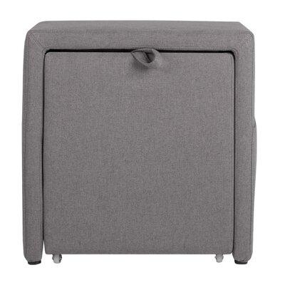 Charter Storage Cube Ottoman Upholstery: Devon Heather