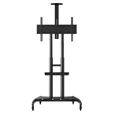 Adjustable Height Floor Stand Mount for 40 - 80 Flat Panel TV