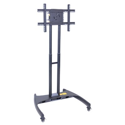 Adjustable Height Rolling Floor Stand Mount for 40-60 Flat Panel TV