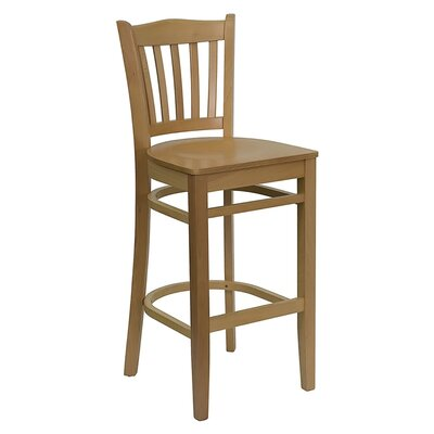 Dryden 29.25 Bar Stool Finish: Natural