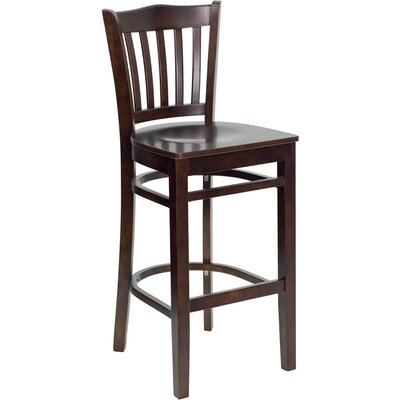Dryden 29.25 Bar Stool Finish: Walnut