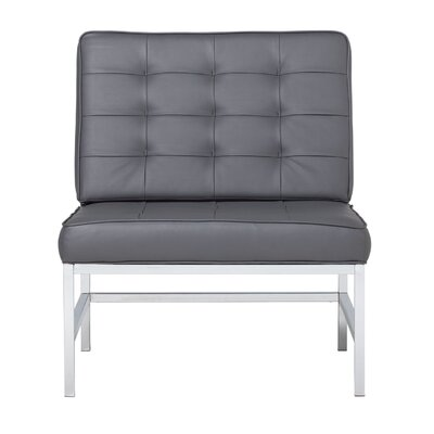 Ashlar Lounge Chair Upholstery: Grey