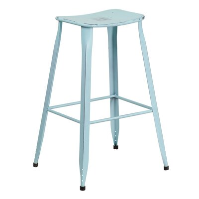 29.75 Bar Stool Finish: Dream Blue