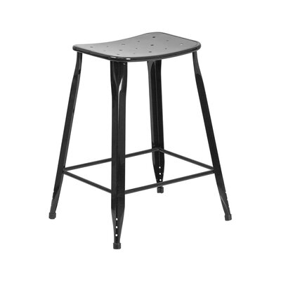 Chilmark 24 Bar Stool Color: Black