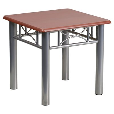 Katerina Laminate End Table Color: Mahogany