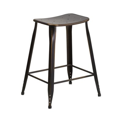 Chilmark 24 Bar Stool Color: Distressed Copper