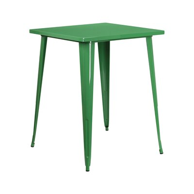 Pub Table Finish: Green
