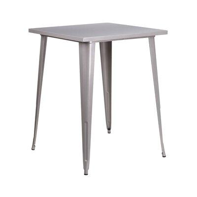Pub Table Color: Silver