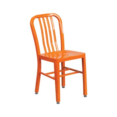 Dining Chair Color: Orange