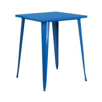 Pub Table Finish: Blue