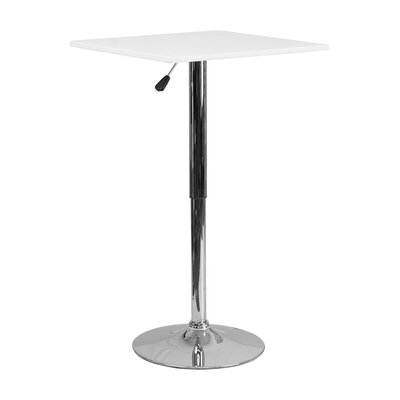 Noemi Square Adjustable Pub Table