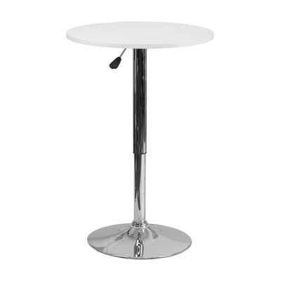 Noemi Round Adjustable Pub Table