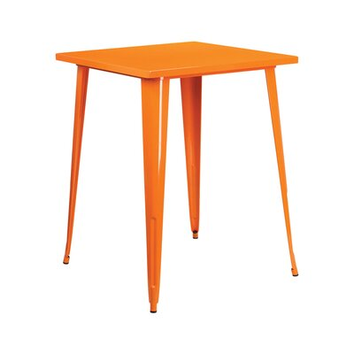 Pub Table Color: Orange