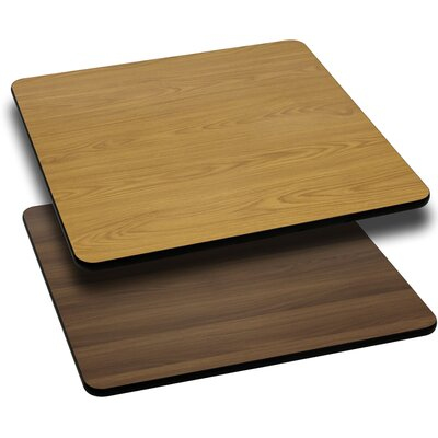 Reversible Table Top Size: 1 H x 30 W x 30 D
