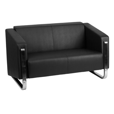 Orlie Leather Loveseat