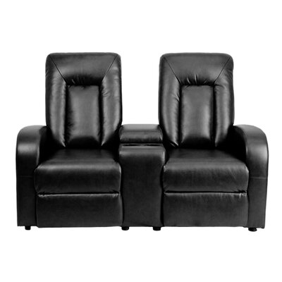 Home Theater Sofa Upholstery: Black