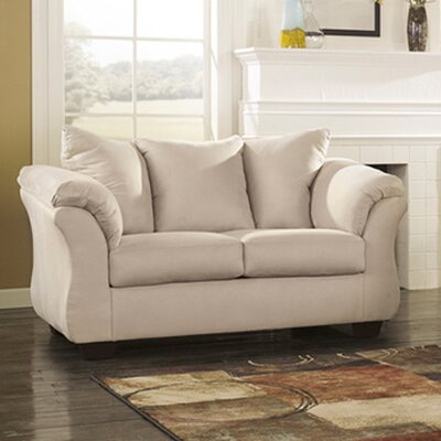 Cynthia Leather Loveseat