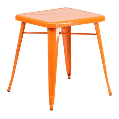 Charles Square Bar Table Finish: Orange