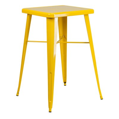 Charles Square Bar Table Finish: Yellow