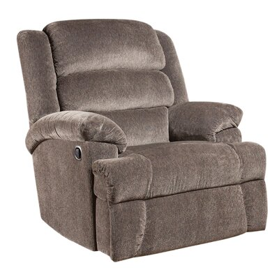 Marietta Manual Recliner Upholstery: Charcoal