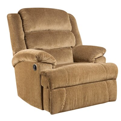 Marietta Manual Recliner Upholstery: Amber