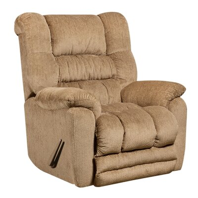 Dawes Manual Recliner Upholstery: Fawn