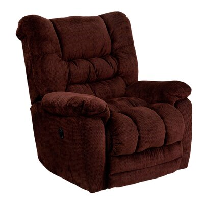 Dawes Power Recliner Upholstery: Merlot