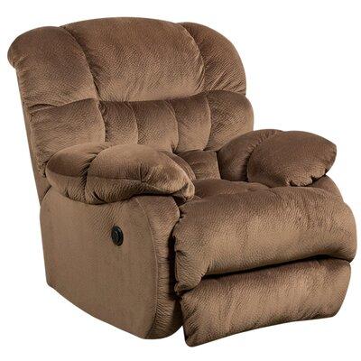 Straker Power Recliner Upholstery: Espresso
