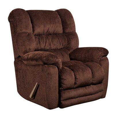 Dawes Manual Recliner Upholstery: Mahogany