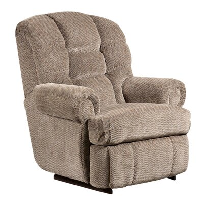 Mariemont Manual Recliner Upholstery: Pewter
