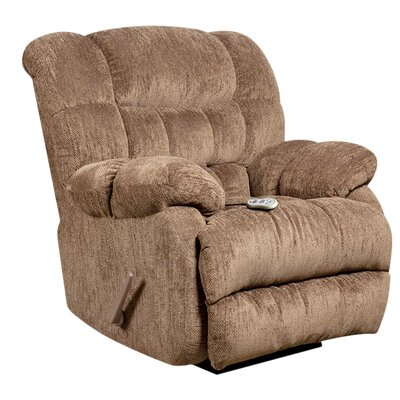 Straker Recliner Upholstery: Mushroom