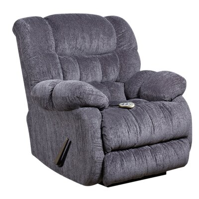 Straker Recliner Upholstery: Indigo Blue