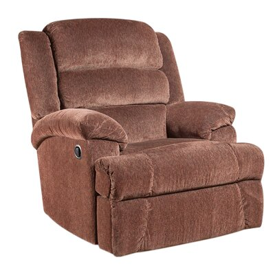Marietta Manual Recliner Upholstery: Claret