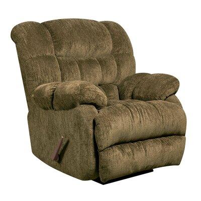 Straker Manual Recliner Upholstery: Mushroom