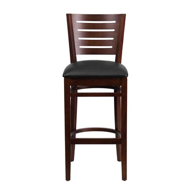 Darby Series 31.5 Bar Stool Upholstery: Black