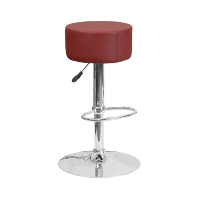 30.5 Swivel Bar Stool Upholstery: Burgundy