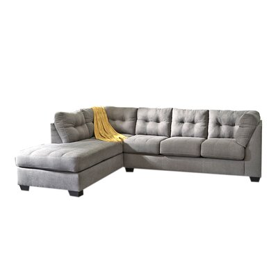 Derosa Sectional Upholstery: Charcoal