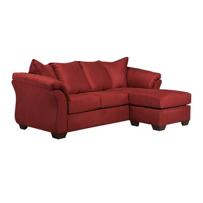Olesen Sectional Upholstery: Red