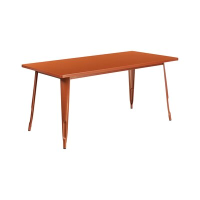Jesse Indoor Coffee Table Color: Copper
