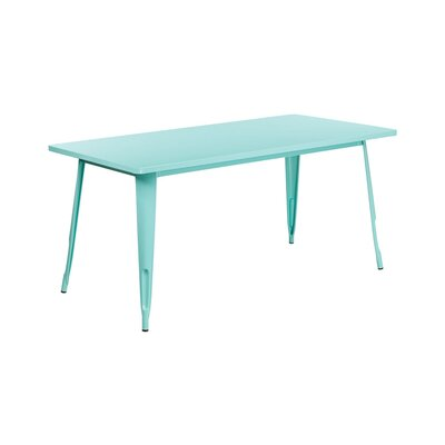 Jesse Indoor Coffee Table Color: Mint Green