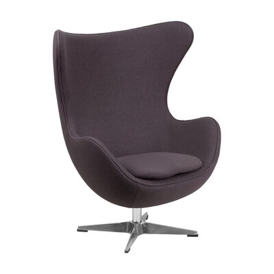 Siegle Lounge Chair Upholstery: Gray