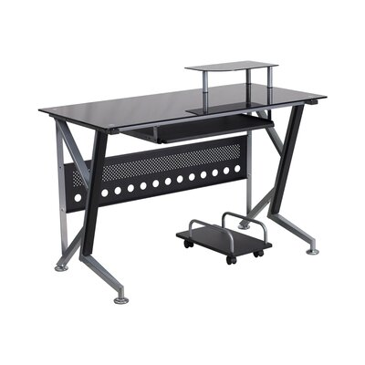 Ferrisburgh 45.25 W x 28.5 D Desk Drawer with Pull-out Keyboard Tray and CPU Cart