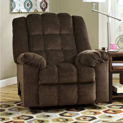 Harloe Manual Rocker Recliner Upholstery: Cocoa